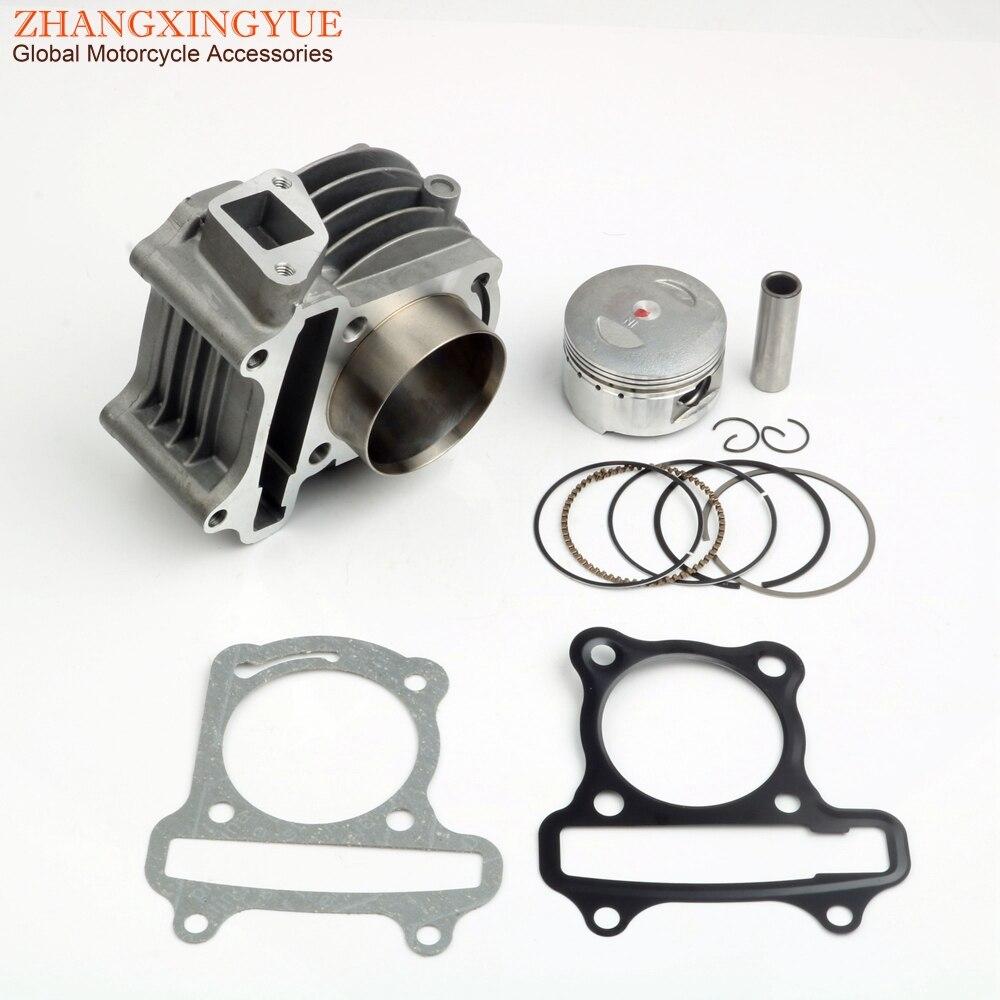52mm Big Bore Racing Zylinder Kit für Baotian BT49QT 50cc GY6 139QMB 50cc zu 120cc upgrade 4-hub motor teile