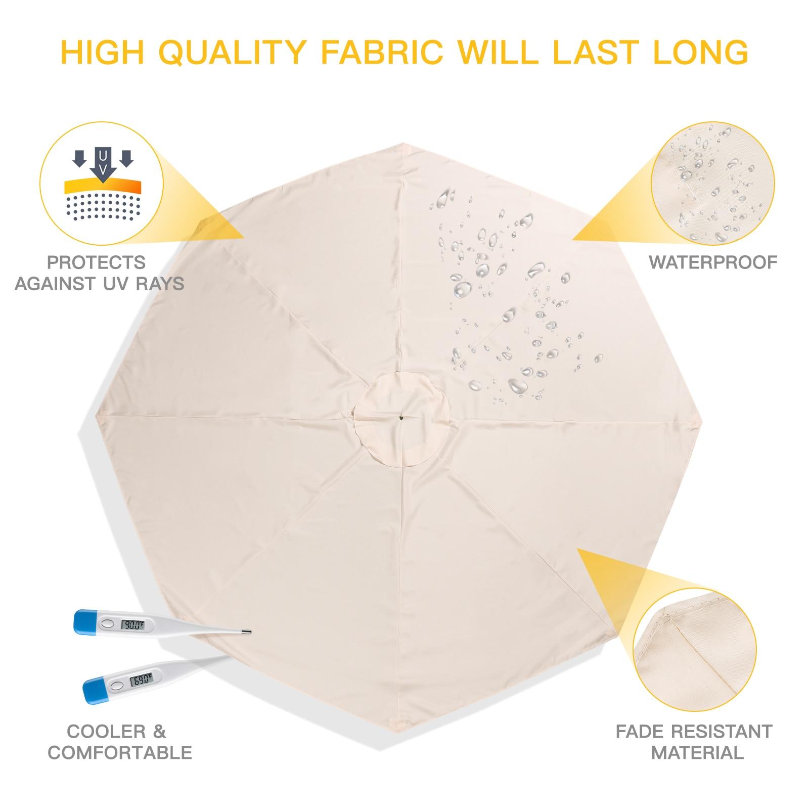 ZK30 مظلة الشاطئ الأشعة فوق البنفسجية حماية المظلة مظلة للأماكن المفتوحة المظلة دون حامل مظلة