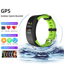 GPS Smart Bracelet Watch Sport 2020 Men Women Altitude Air Pressure Calorie Step Distance Fitness Speed Heart Rate Sleep Monitor