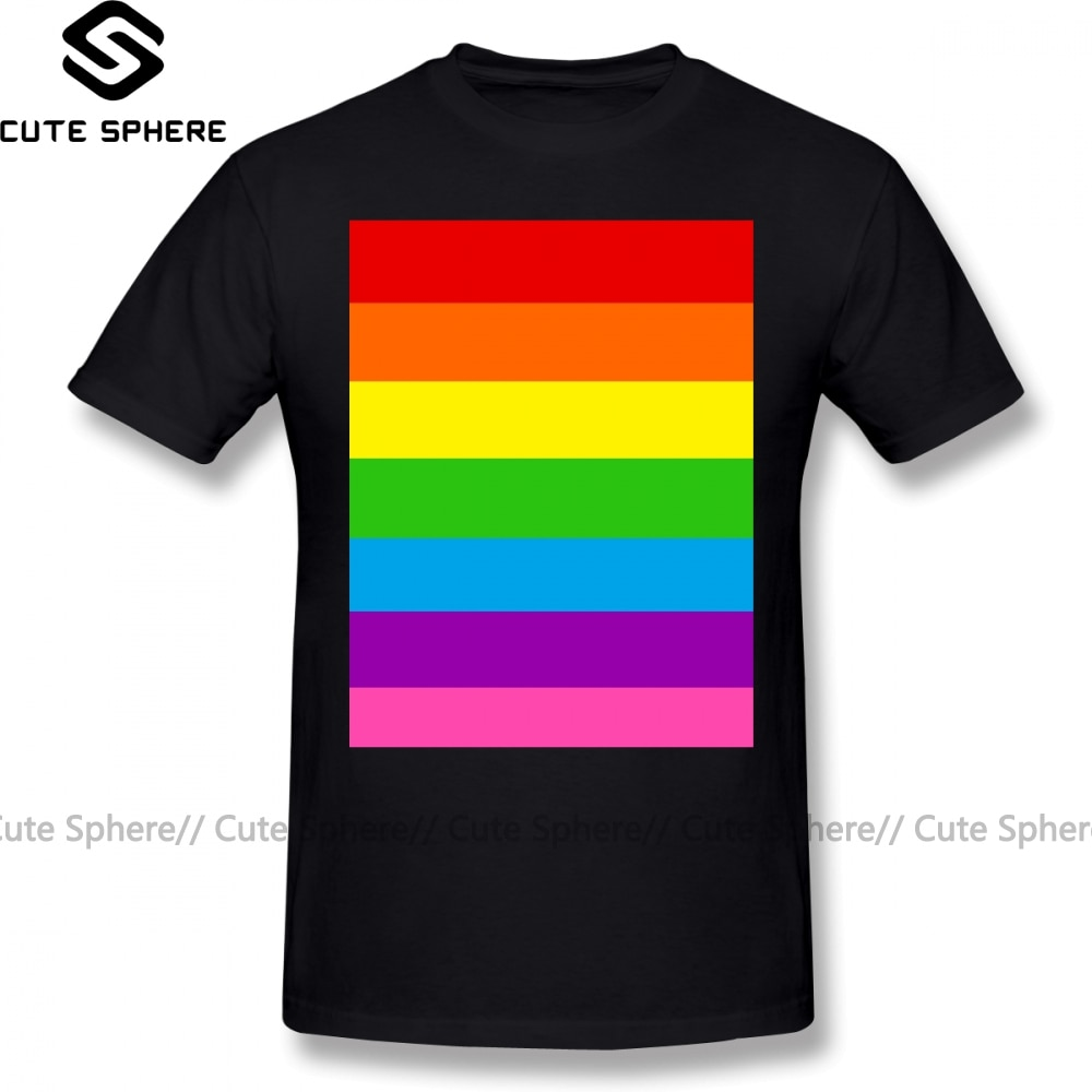 Lgbt t camisa lgbt camisa xxx streetwear t camisa diversão de manga curta masculino 100 por cento algodão impressão tshirt