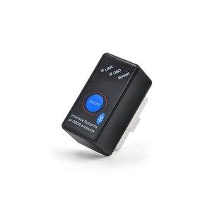 Image 5 - Супер Мини ELM327 Bluetooth ELM 327 выключатель питания V2.1 Кнопка ВКЛ/ВЫКЛ OBD2 автомобильный диагностический инструмент Многоязычный для протоколов OBDII