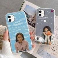 olivia rodrigo sour full album phone case for iphone 5s 6 7 8 11 12 plus xsmax xr pro mini se soft transparent cover fundas