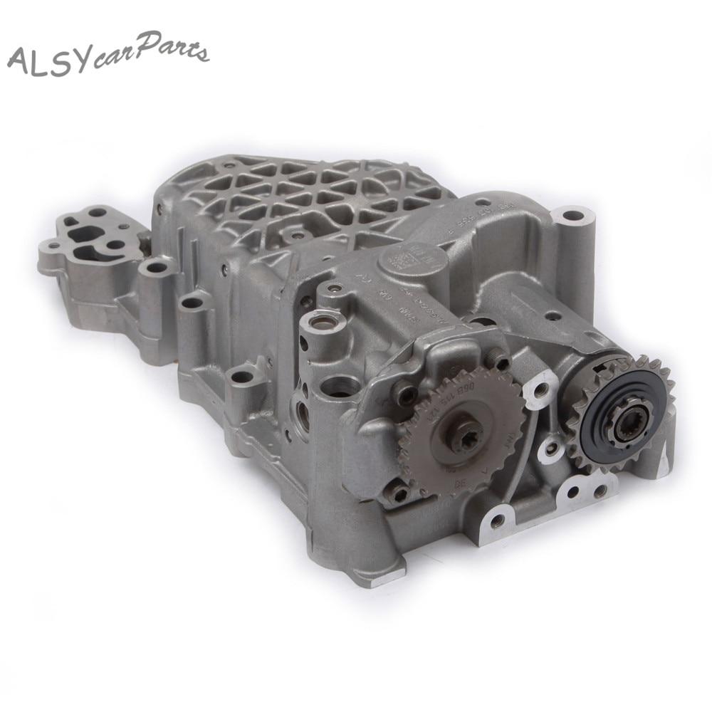 Conjunto de eje de Balance de bomba de aceite YIMIAOMO OEM 06D103295S para VW Jetta Golf Passat EOS Audi A3 S3 TT A6 A4 2,0 TSI 06D103295F
