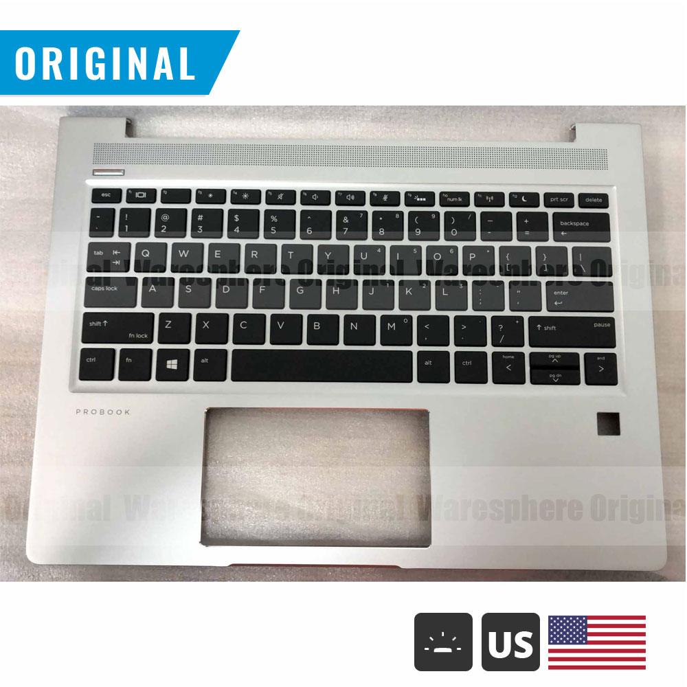 جديد الأصلي Palmrest ل HP Probook 13 430 G6 أعلى غطاء معنا غير الخلفية/الخلفية لوحة المفاتيح L44548-001 L44547-001 لنا الشظية