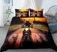2021 printed 23pcs set motorcycle race car cool locomotive duvet cover sets custom comforter bedding set twin for boys adult