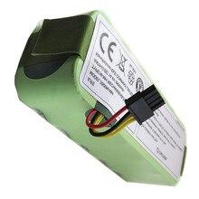 Nouvelle batterie NI-MH 14.4V 3500mAh pour Panda X500 X600 aspirateur batterie pour Ecovacs Mirror CR120 pour Dibea X500 X580
