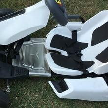 Sicherheit pedal für Ninebot Gokart Kit Kart Kit Refit selbst balance Roller Kotflügel ersatzteile