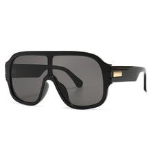 2020 Oversized Square Sunglasses Women Luxury Brand Fashion Flat Top Big Sun Glasses Vintage Driving
