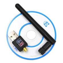 Besegad 150mbps USB Wifi adaptateur Mini carte Lan sans fil 802.11b/g/n MT7601 Wlan PC Wi-Fi Wi-Fi Dongle Wifi récepteur antenne
