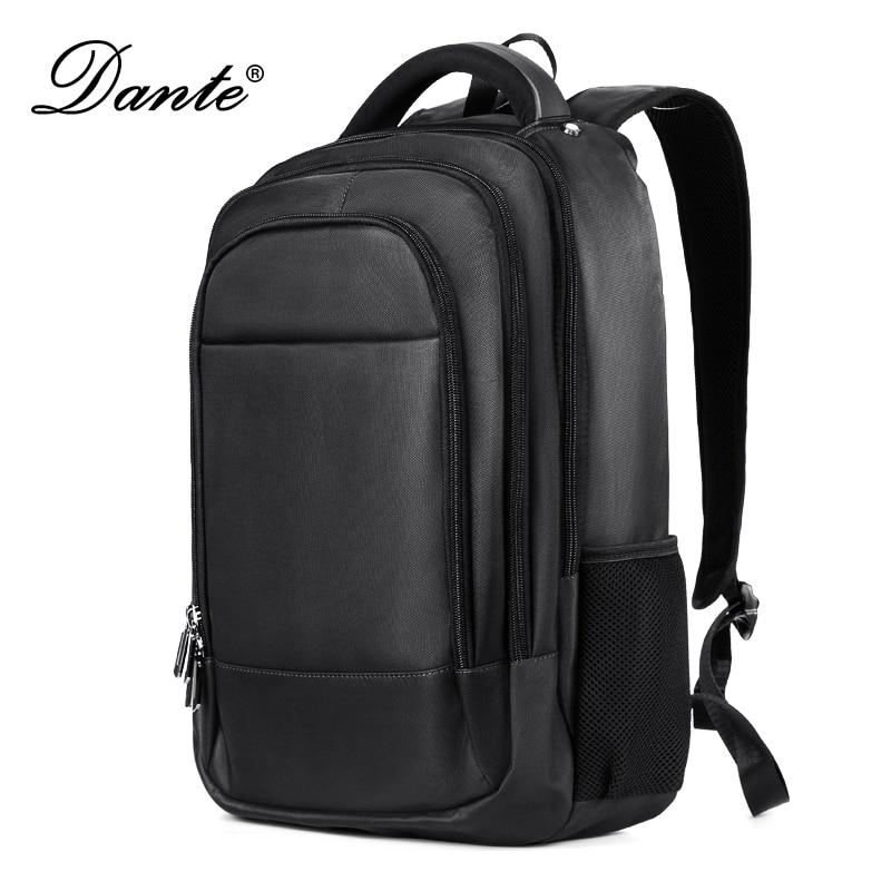 Mochila Dante para hombres Multi-bolsillos Oxford impermeable viaje usable ordenador bolsas con interfaz de carga 01803