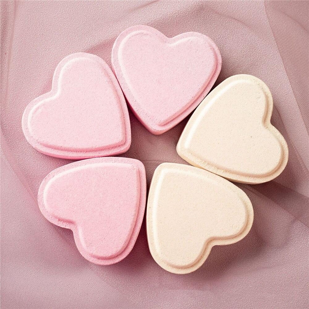 Любовь сердце форма соли для ванны бомба для ванны сюрприз пять-белье отеля пять звезд продукты для ванны Расслабляющая соль для ванны спа л...