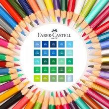 Matite per acquerelli Faber Castell toni verde blu colori supplementari studente artista disegno forniture