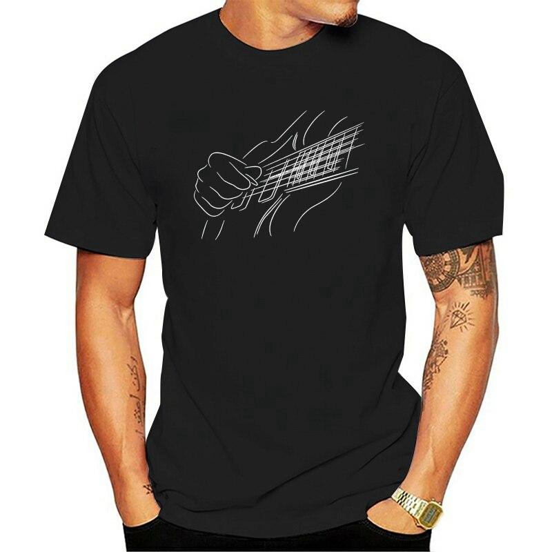 Camiseta de guitarras y guitarras eléctricas