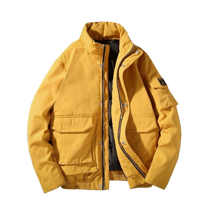Мужские зимние куртки, повседневные теплые толстые водонепроницаемые парки, пальто, сохраняющая тепло, мужская верхняя одежда, куртка, паль...