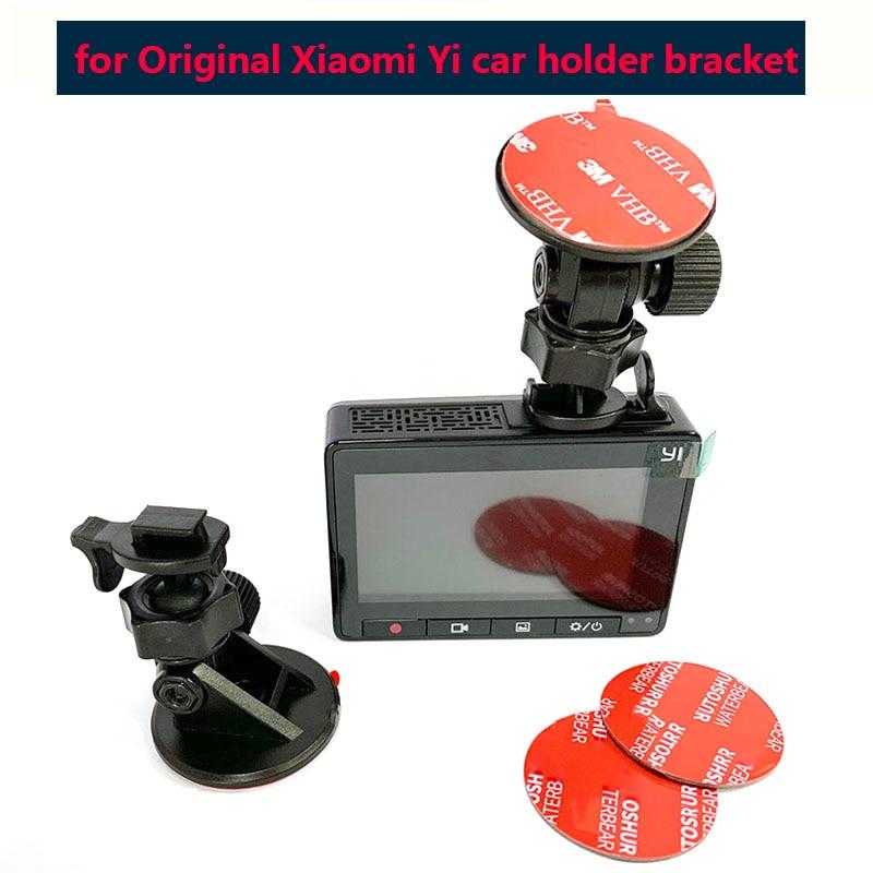 Origianl Yi Dash Cam Mirror Mount 3M Sticeker Yi Dash Cam Mount For Xiaomi YI DVR Holder mini bracket for car dvr mount cup