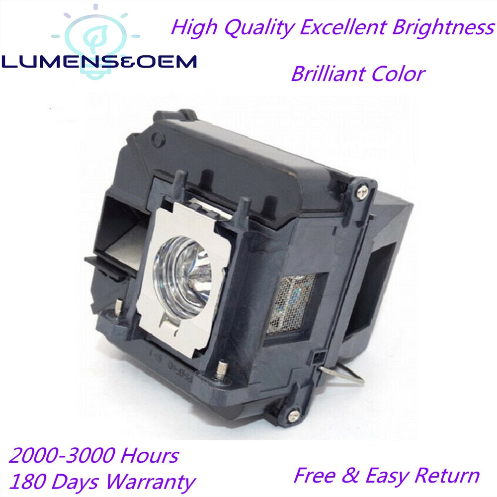 LUMENS&OEM For ELPLP68 High Quality Projector Lamp w/housing for EPSON EH-TW5900 EH-TW6000 EH-TW6000W EH-TW5910 EH-TW6100 TW10