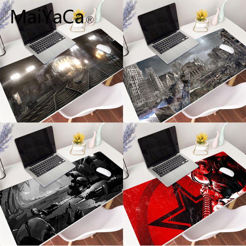 Tapete de borracha antiderrapante xl xxl 2033x800mm para lol world of warcraft maiyaca metro 300 almofada de borracha para o jogo do rato