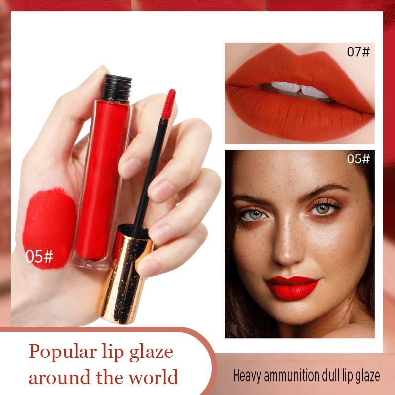 Youe Shone Lip Gloss Tkb Lip Gloss Base Hungary Lip Gloss Matt Korean Cosmetics Army Greenmatt Sky Blue Beauty Red