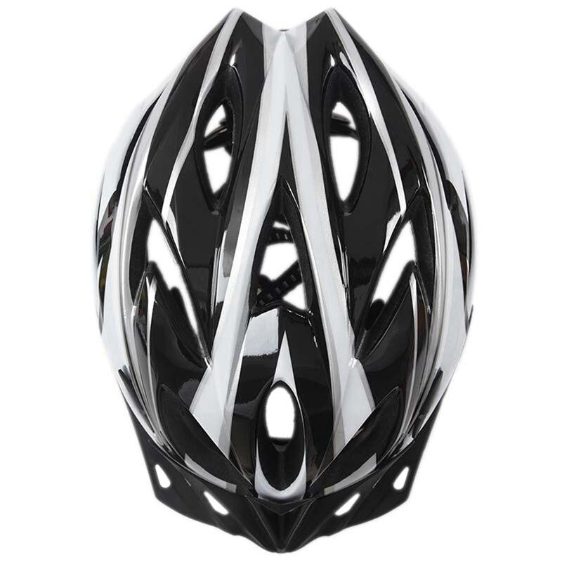 [Circunferencia de la cabeza 54 ~ 64 cm] Ajuste del tamaño del casco de bicicleta para adultos súper ligero con salón de ventilación de prevención de vapor 18 p