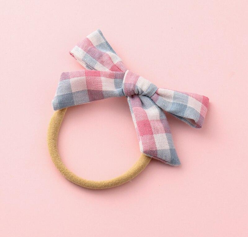 12 cores bebê meninas headwear arcos de cabelo laços encantadores faixas de cabelo elásticos rabo de cavalo suportes da criança moda acessórios para o cabelo