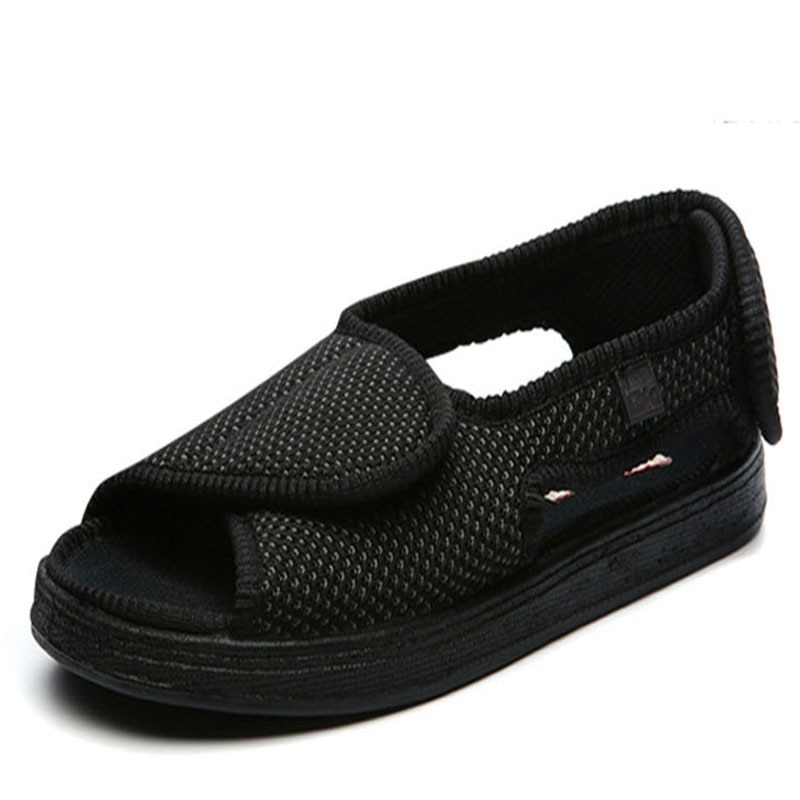 حذاء صيفي للرجال والنساء ، حذاء بمقدمة قدم لمرضى السكري ، متورمة ، إصبع سحري كبير ، صندل خارجي ، منتصف العمر