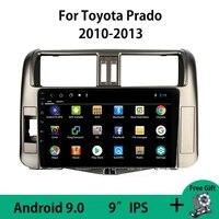 android 9 0 car radio multimedia video player navigation gps for toyota land cruiser prado 150 2010 2011 2012 2013 no 2din obdii