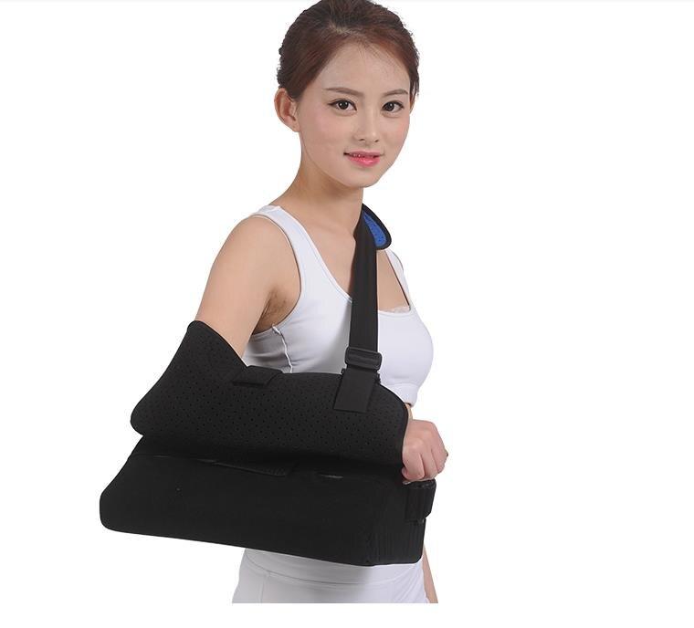 Almohadas de abducción de hombros, extensión de hombro, articulación de hombros, dislocación de húmero, fracturas, fijo con un rectángulo de rehabilitación fijo