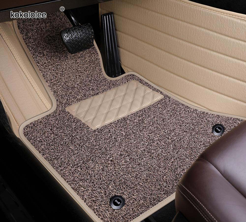 Custom car floor mats for nissan qashqai kicks teana x-trail almera patrol tiida patrol GTR murano FUGA Cefiro auto foot mats