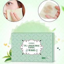 100/300 Uds verano cara aceite secante láminas para aceite papeles absorbentes la piel limpiador de aceite de Control psiquiatra poros faciales herramienta de limpieza