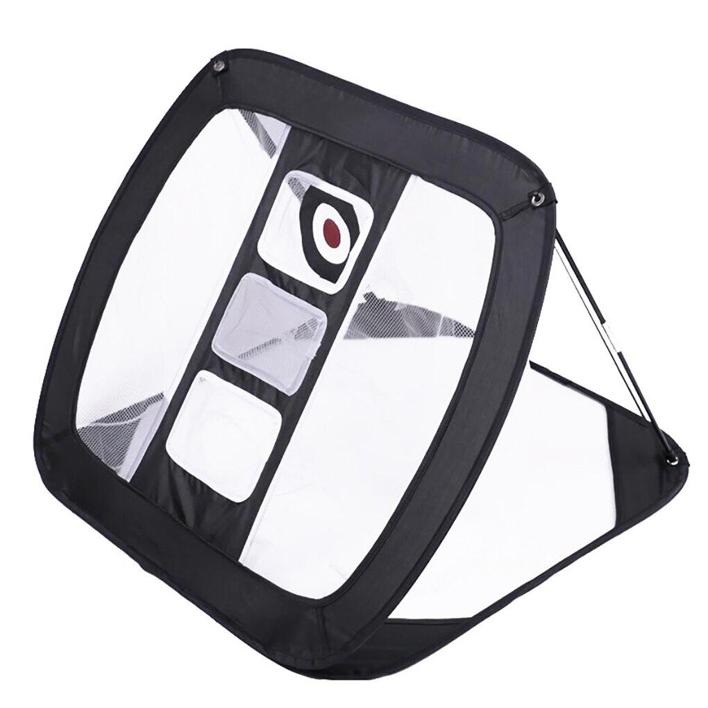 Портативная Складная сетка для игры в гольф, эластичная Складная качели для тренировок в помещении и на улице, с сумкой для хранения