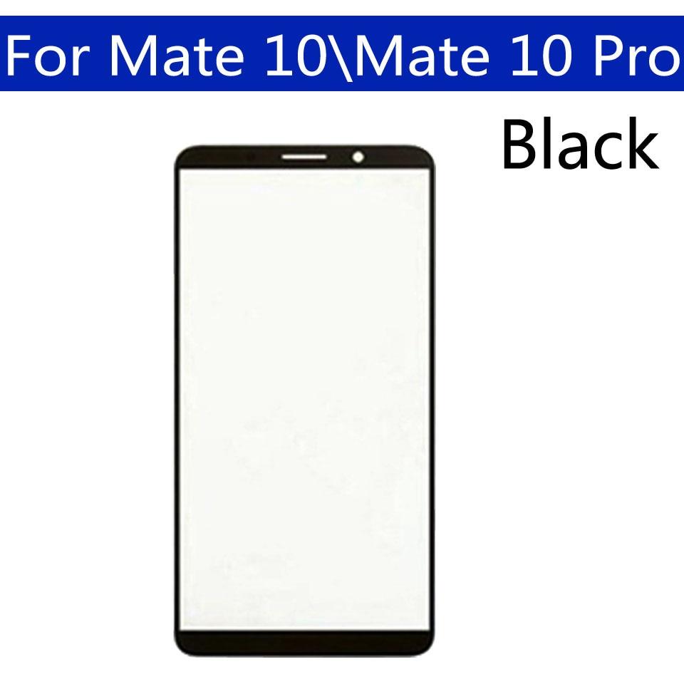 10 piezas  lote para Huawei Mate 10 pantalla táctil frontal cristal exterior lente para Huawei Mate 10 Pro LCD reemplazo de vidrio