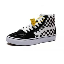 Men's fashion canvas shoes high-top Korean trend all-match casual sneakers