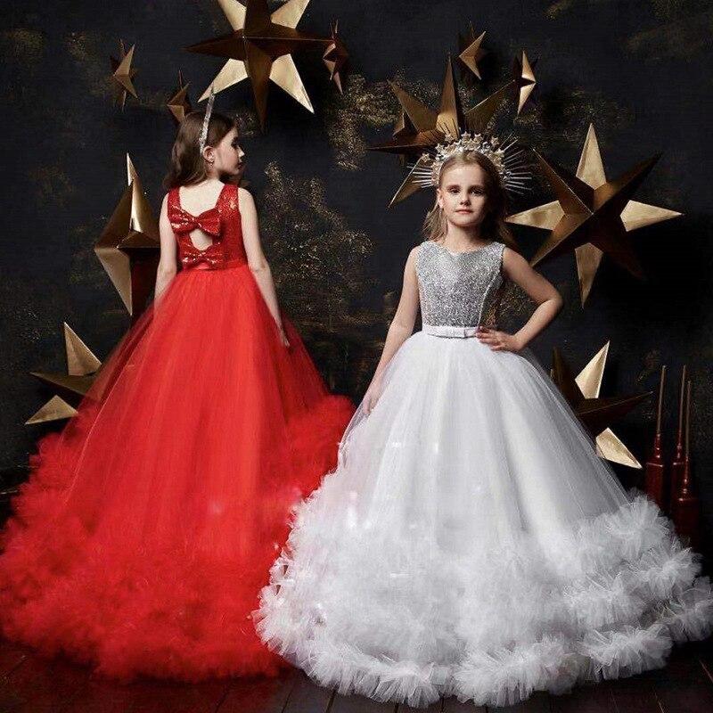 Vestido de fiesta de noche para niña, Vestido largo de dama de honor, vestido de princesa, vestidos infantiles para niñas, vestido de boda 10 12 años