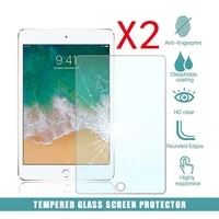 2pcs tablet tempered glass screen protector cover for apple ipad mini 5 2019 7 9 inchmini 4 explosion proof tempered film