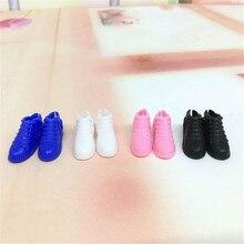 4 paires chaussures de poupée originales mode chaussures mignonnes pour 1/6 chaussures de poupée meilleur cadeau accessoires de poupée en gros