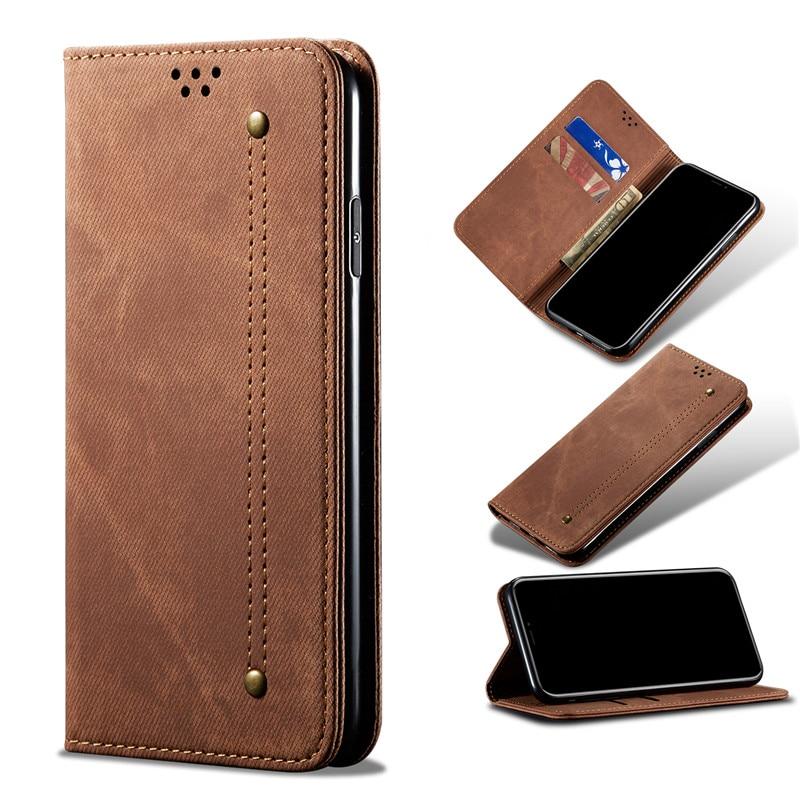Flip Cover For Huawei Nova 7pro 7i 7 Se 6se 5z 5t 5i Pro 4e Y9 Prime 2019 Y7p Y6p Y5p 2020 Luxury Denim Pu Leather Wallet Case