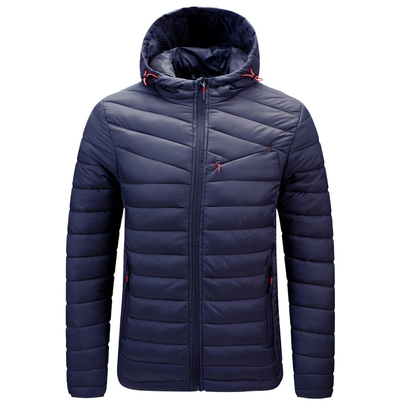 Мужская зимняя куртка, легкая пуховая куртка, Мужская ветровка, мужская теплая куртка, ветровка, верхняя одежда