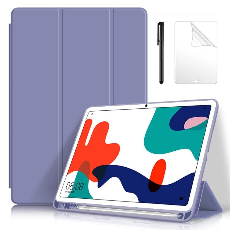 Para Huawei MatePad 10,4 2020 Auto Sleep/Wake con estuche portalápices, funda para Tablet, para MatePad 10,4 BAH3-W09 Shell + Film Pen