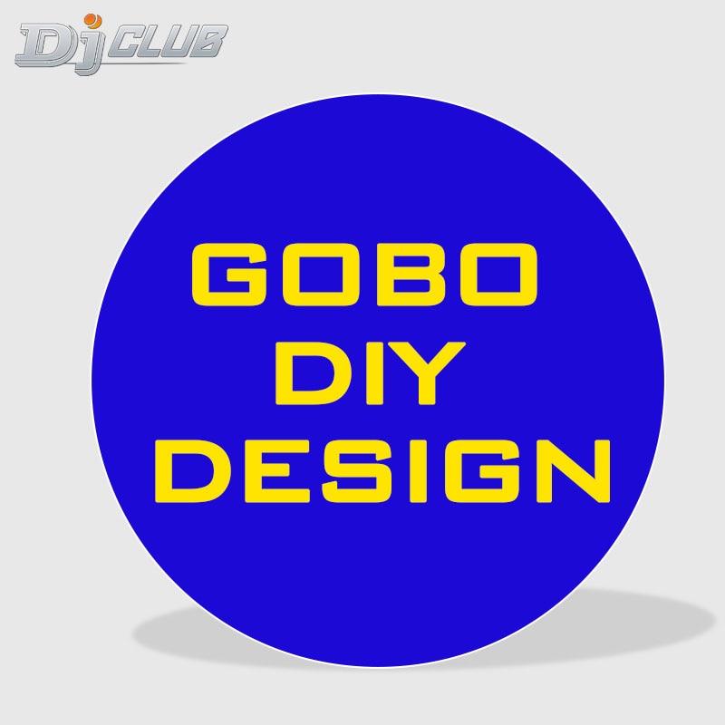 Сделай сам, Gobo, дизайн логотипа для проектора, светодиодный светильник