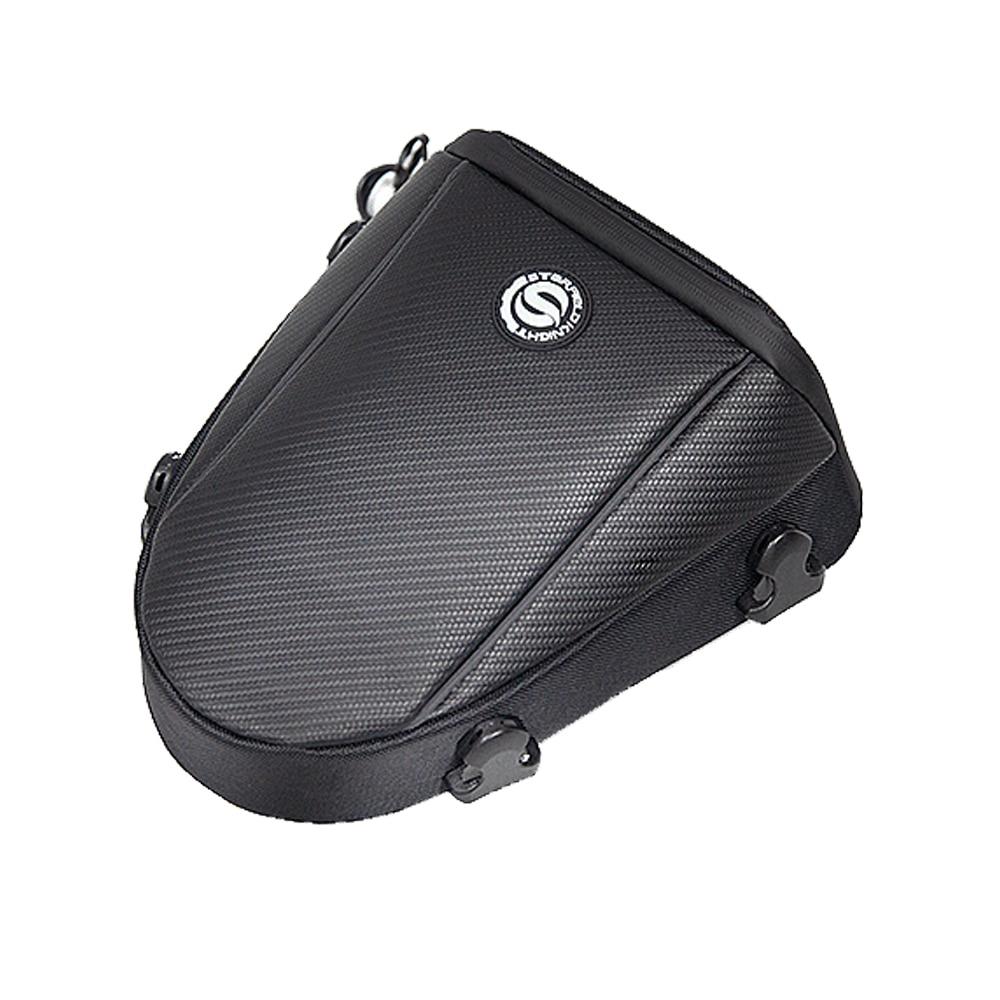 Сумка на заднее сиденье мотоцикла, черная сумка на заднее сиденье, сумка на седло, сумка для инструментов на заднее сиденье