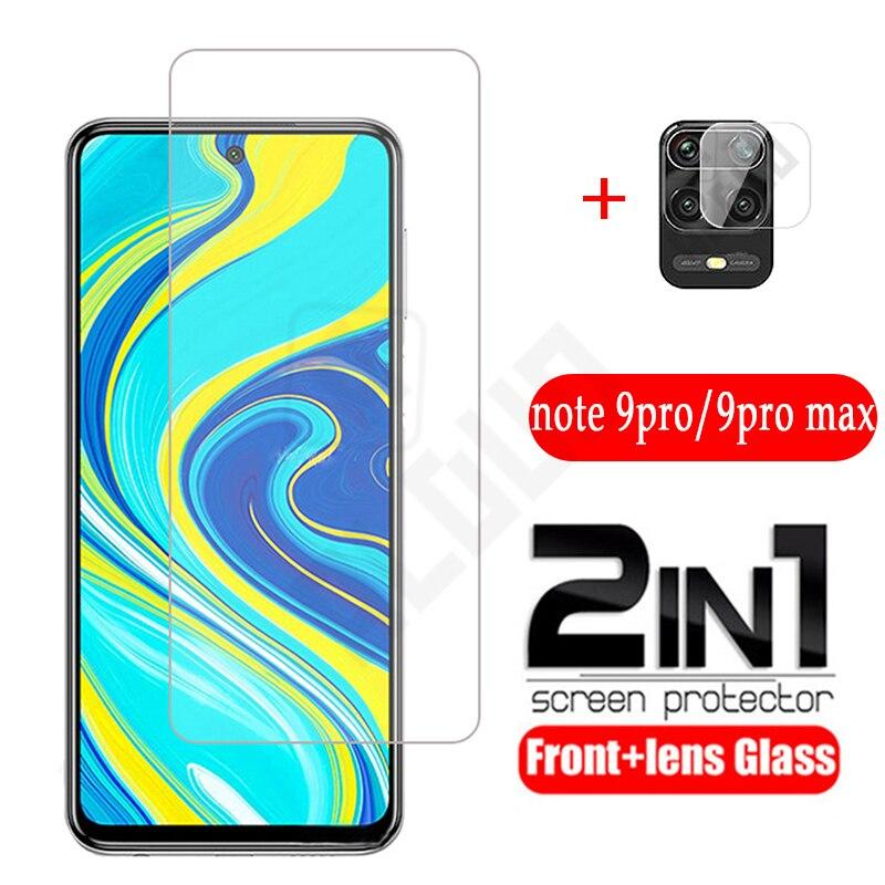Защитная пленка для объектива камеры для Redmi Note 9s 9Pro Max закаленное стекло 2-в-1 Защитное стекло для Redmi Note Pro Max