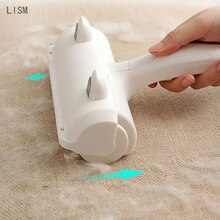 2-Way Remove Pet Hair Roller Dog Hair Remover Brush Carpet Cleaning Brush Cat Lint Sticking Roller C