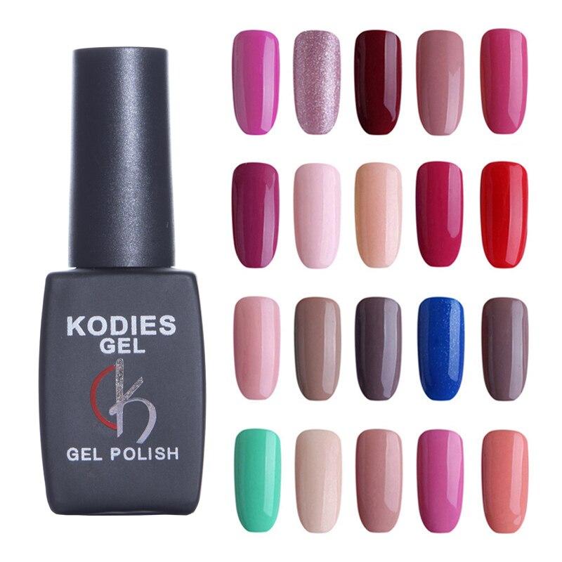 NEW Summer  Professional UV Gel Nail Polish Soak Off 8ML Coffee Glitter Colors Gel Nail Varnishes Manicure Gellak For Nails Art