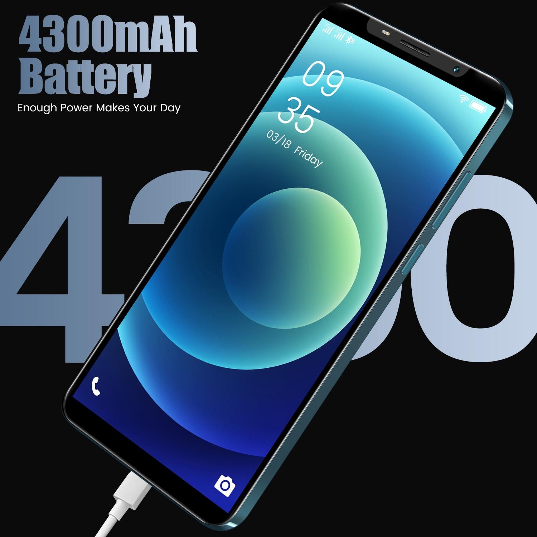 2021 Global 4.72 Inch IP13MINI Hot Sale Water Drop Screen 6GB+128GB Deca Core Dual SIM 18MP+21MP Face Recognition Smartphone enlarge