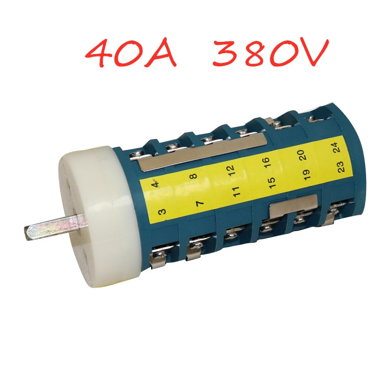 40A 380V Tyre changer Two-speed Motor Forward Reverse Switch Tire Repair Replaced Fitting Parts недорого