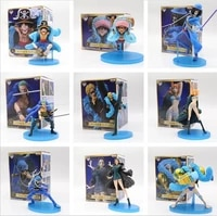 one pieceone piece 20th anniversary straw hat pirates luffy nami zoro chopper figure toys collectibles cartoon characters