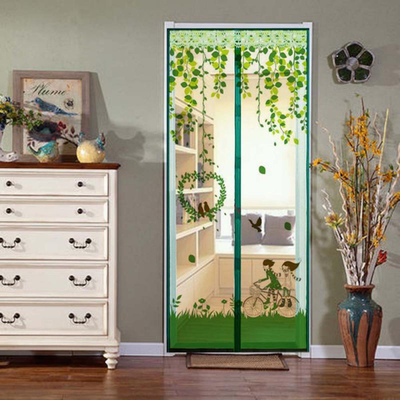 Magnético Mosquito de la puerta cortinas de verano red para insectos mosquitos...