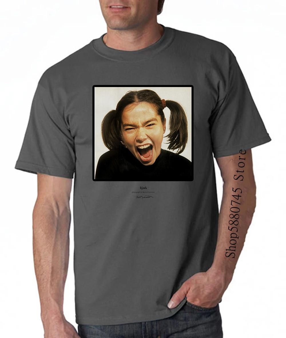 Camiseta Bjork fotógrafo Kevin divertido Collab