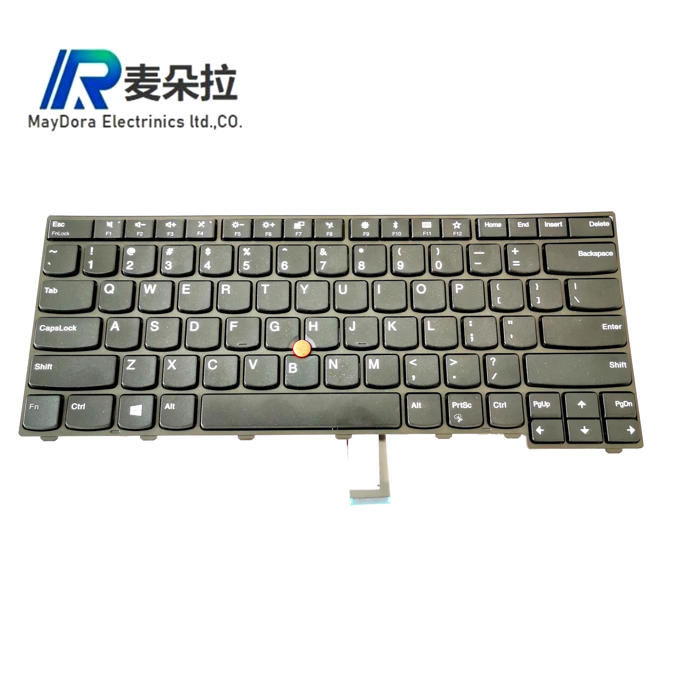 New US IND Keyboard For ThinkPad  L440 L450 L460 L470 T431S T440 T440P T440S T450 T450S e440 e431S T460 WO Backlit 01EN468