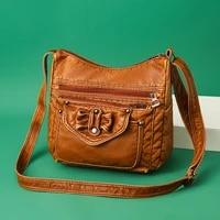 2020 women shoulder bag leather luxury handbags womens bags designer shoulder crossbody bag female fashion female for ladies